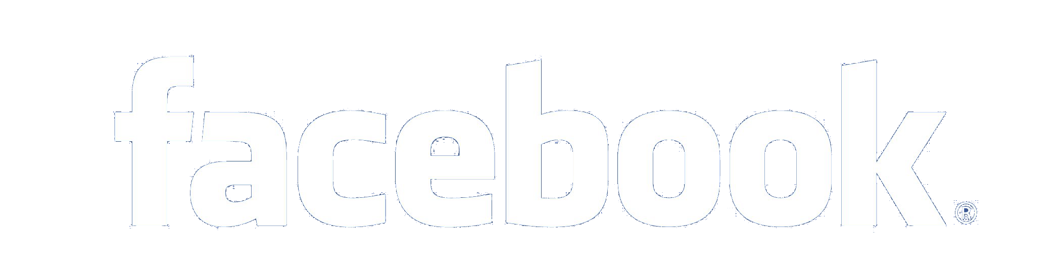 Facebook White Logo